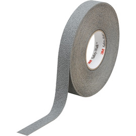 3M Safety-Walk Slip-Resistant Medium Resilient Tape 370, Gray, 1 inch x 60 ft Roll (4 Roll/Pack)