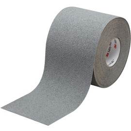 3M Safety-Walk Slip-Resistant Medium Resilient Tape 370, Gray, 6 inch x 60 ft Roll