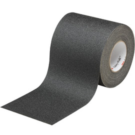 3M Safety-Walk Slip-Resistant General Purpose Tape 610 Black 6 inch x 60 ft Roll