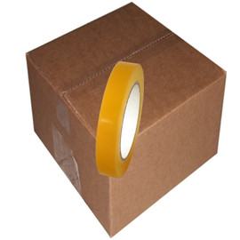 Clear Vinyl Tape 3/4 inch x 36 yard Roll (64 Roll/Pack)