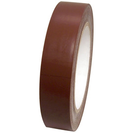 Dark Brown Vinyl Tape 1 inch x 36 yard Roll
