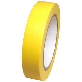 Yellow Vinyl Tape 1 inch x 36 yard Roll