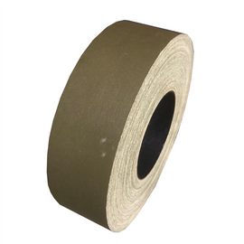Olive Drab Gaffers Tape Factory Seconds 2 inch x 50 yards (Black Core)