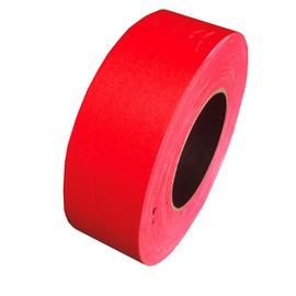 Red Gaffers Tape Factory Seconds 2 inch x 50 yards (Black Core)