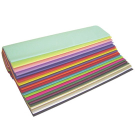 Tissue Paper Colored Assortment Pack 20 inch x 30 inch (480 Per/Pack)