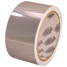Tape Planet Polished Chrome 2 inch x 10 yard Roll Metalized Polyester Tape
