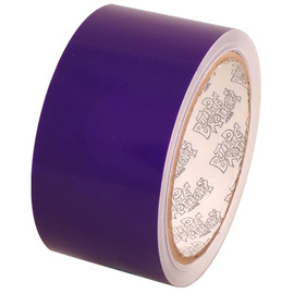 Tape Planet Transparent Purple 2 inch x 10 yard Roll Premium Cast Vinyl Tape