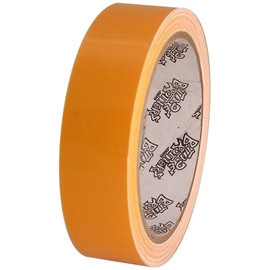 Tape Planet Transparent Yellow 1 inch x 10 yard Roll Premium Cast Vinyl Tape (120 Roll/Pack)