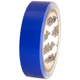 Tape Planet Transparent Blue 1 inch x 10 yard Roll Premium Cast Vinyl Tape