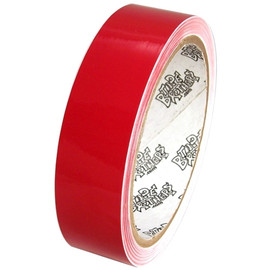 Tape Planet 3 mil 1 inch x 10 yards Red Outdoor Vinyl Tape (60 Roll/Pack)