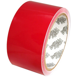Tape Planet 3 mil 2 inch x 10 yard Roll Red Outdoor Vinyl Tape