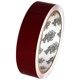 Tape Planet 3 mil 1 inch x 10 yard Roll Burgundy Outdoor Vinyl Tape