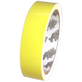 Tape Planet 3 mil 1 inch x 10 yard Roll Light Yellow Outdoor Vinyl Tape