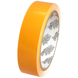 Tape Planet 3 mil 1 inch x 10 yard Roll Yellow Outdoor Vinyl Tape