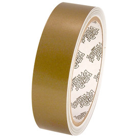 Tape Planet 3 mil 1 inch x 10 yard Roll Gold Outdoor Vinyl Tape