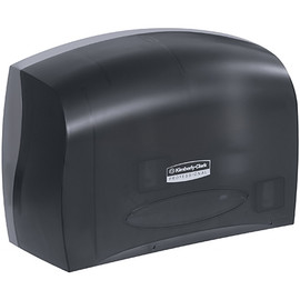 Scott Jumbo Coreless Toilet Paper Dispenser Black 14 inch x 10 inch x 6 inch