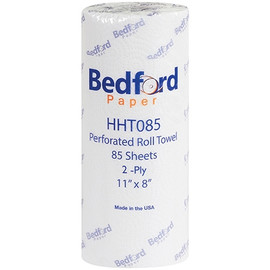 Bedford 2-Ply Paper Towels 11 inch x 8 inch (85 Sheet Roll (30 Per/Pack)
