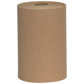 Bedford Kraft Hard Wound Roll Towels 8 inch x 350 ft (12 Per/Pack)