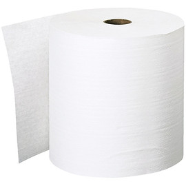 Scott Essential Plus White Hard Wound Roll Towels 8 inch x 600 ft (6 Per/Pack)-1