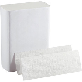 BigFold Z White Multi-Fold Towels 10 inch x 11 inch Sheet (220 Per/Pk(10 Per/Pack)