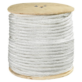 Double Braided Nylon Rope White 1/2 inch x 600 ft Spool