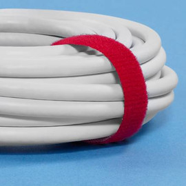 VELCRO® Brand Self-Grip Straps Red 3/4 inch x 75 ft