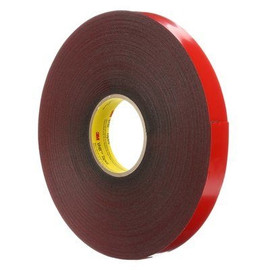 3M 4611 VHB Tape Gray 1/2 inch x 5 yard Roll (45 Mil)