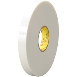 3M 4622 VHB Tape White 1/2 inch x 5 yard Roll (45 Mil)