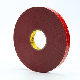 3M 4936 VHB Tape Gray 1 inch x 5 yard Roll (25 Mil)