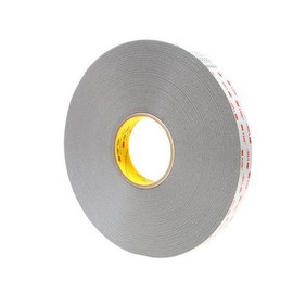 3M 4941 VHB Tape Gray 1/2 inch x 5 yard Roll (45 Mil)