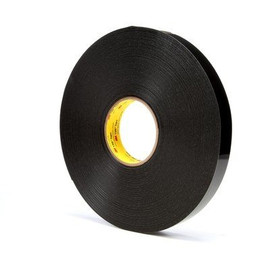 3M 4949 VHB Tape Black 3/4 inch x 5 yard Roll (45 Mil)