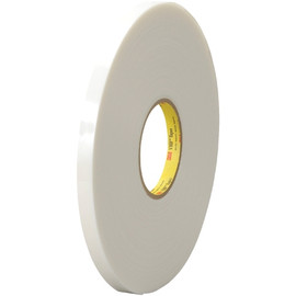3M 4951 VHB Tape White 1/2 inch x 5 yard Roll (45 Mil)