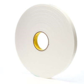 3M 4955 VHB Tape White 3/4 inch x 5 yard Roll (80 Mil)