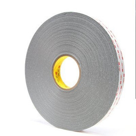 3M 4956 VHB Tape Gray 1 inch x 5 yard Roll (62 Mil)