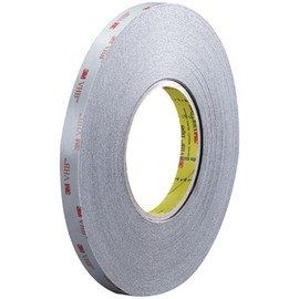 3M 5915 VHB Tape Black 1/2 inch x 5 yard Roll (16 Mil)