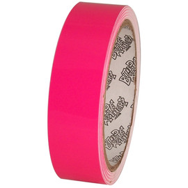 Tape Planet Fluorescent Pink 1 inch x 10 yards Premium Cast Vinyl Tape