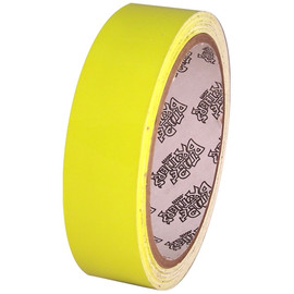 Tape Planet Fluorescent Yellow 1 inch x 10 yards Premium Cast Vinyl Tape