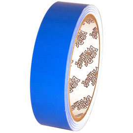 Tape Planet Fluorescent Blue 1 inch x 10 yards Premium Cast Vinyl Tape
