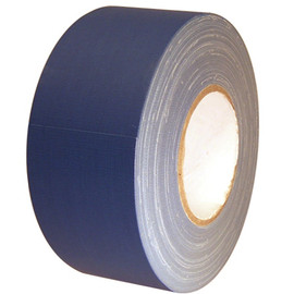 "Economy Dark Blue Gaffers Duct Tape 3"" x 60 yard Roll (16 Roll/Case)"