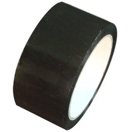 "Black Carton Sealing Tape 2"" x 110 yard Roll 2.0 mil (36 Roll/Case)"