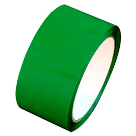 "Green Carton Sealing Tape 2"" x 55 yard Roll 2.0 mil (36 Roll/Case)"