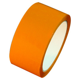 "Orange Carton Sealing Tape 2"" x 55 yard Roll 2.0 mil (36 Roll/Case)"