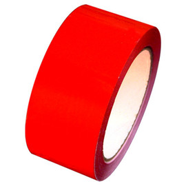 "Red Carton Sealing Tape 2"" x 110 yard Roll 2.0 mil (36 Roll/Case)"