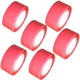 "Pink Carton Sealing Tape 2"" x 55 yard Roll 2.0 mil (6 Pack)"