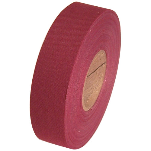 Burgundy Cloth Hockey Stick Tape 1 inch x 25 yard Roll