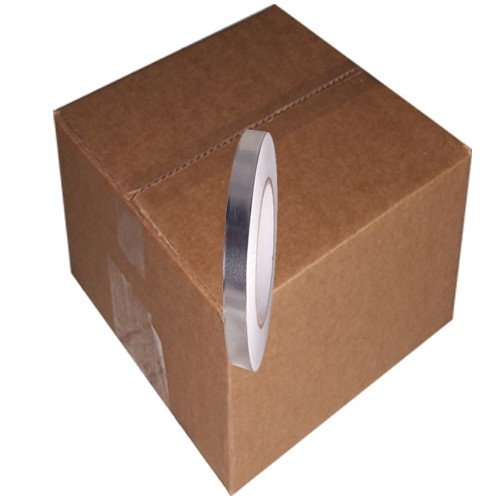 AF-20R 1/2 inch x 50 yard Roll Aluminum Foil Tape with liner (96 Roll/Pack)
