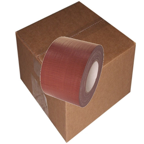 Dark Brown Duct Tape 4 inch x 60 yard Roll (12 Roll/Pack)