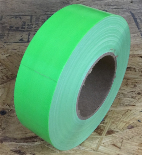 Fluorescent Green Duct Tape 2 inch x 60 yard Roll