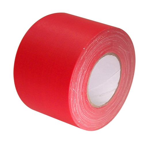 Economy Red Gaffers Duct Tape 3 inch x 60 yard Roll