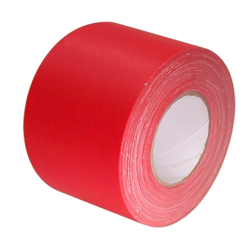 Economy Red Gaffers Duct Tape 3 inch x 60 yard Roll (16 Roll/Pack)